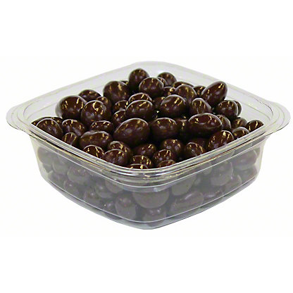 Nassau Candy Dark Chocolate Covered Raisins,LB